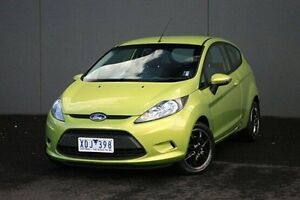 2009 Ford Fiesta Green Automatic Hatchback Cranbourne Casey Area Preview