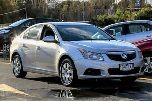2011 Holden Cruze JH Series II MY12 CD Silver 6 Speed Sports Automatic Sedan Ringwood East Maroondah Area Preview