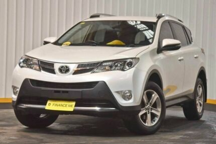 2015 Toyota RAV4 ZSA42R MY14 GXL 2WD White 7 Speed Constant Variable Wagon Hendra Brisbane North East Preview