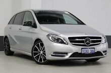 2012 Mercedes-Benz B250 246 MY13 BE Silver 7 Speed Automatic Hatchback Bentley Canning Area Preview