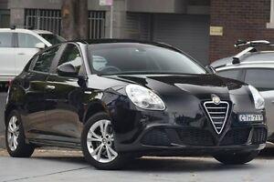 2013 Alfa Romeo Giulietta Series 0 MY13 Progression Black 6 Speed Manual Hatchback Mosman Mosman Area Preview