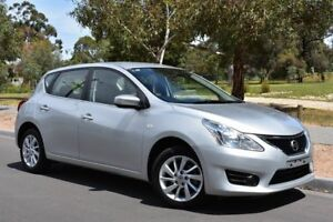 2015 Nissan Pulsar C12 Series 2 ST Silver 1 Speed Constant Variable Hatchback St Marys Mitcham Area Preview