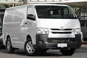 2016 Toyota Hiace TRH201R LWB French Vanilla 6 Speed Automatic Van Christies Beach Morphett Vale Area Preview