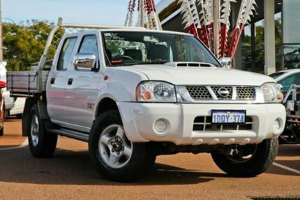 2011 Nissan Navara D22 MY2010 ST-R White 5 Speed Manual Utility Alfred Cove Melville Area Preview