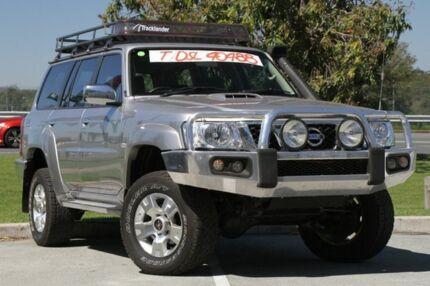 2013 Nissan Patrol Y61 GU 9 ST Silver 5 Speed Manual Wagon Springwood Logan Area Preview