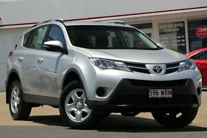2015 Toyota RAV4 ASA44R MY14 GX AWD Silver Pearl 6 Speed Sports Automatic Wagon Woolloongabba Brisbane South West Preview