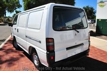 2010 Mitsubishi Express SJ MY10 SWB White 5 Speed Manual Van Northbridge Perth City Preview