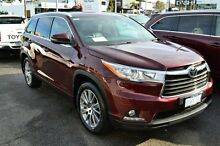 2014 Toyota Kluger GSU55R Grande AWD Moulan Rouge 6 Speed Auto Seq Sportshift Wagon Claremont Nedlands Area Preview
