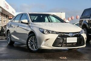2016 Toyota Camry AVV50R Atara SL Crystal Pearl 1 Speed Constant Variable Sedan Hybrid Glendalough Stirling Area Preview
