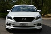 2015 Hyundai Sonata LF Elite Pearl White 6 Speed Sports Automatic Sedan St Marys Mitcham Area Preview