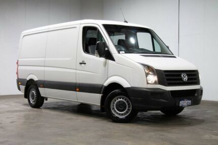 2016 Volkswagen Crafter 2ED1 MY16 35 MWB TDI300 White 6 Speed Manual Van Welshpool Canning Area Preview