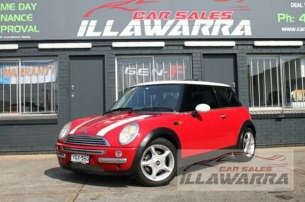 2003 Mini Hatch R50 Cooper Red 6 Speed Constant Variable Hatchback