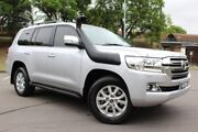 2015 Toyota Landcruiser VDJ200R VX Silver 6 Speed Sports Automatic Wagon East Maitland Maitland Area Preview
