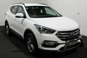 2018 Hyundai Santa Fe DM5 MY18 Active Pure White 6 Speed Sports Automatic Wagon Glenorchy Glenorchy Area Preview