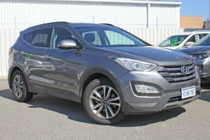 2015 Hyundai Santa Fe DM2 MY15 Elite Silver 6 Speed Sports Automatic Wagon