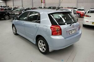 2005 Toyota Corolla ZZE122R 5Y Levin Blue 5 Speed Manual Hatchback Maryville Newcastle Area Preview