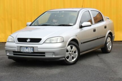 2004 Holden Astra TS MY04.5 CD Classic Silver 4 Speed Automatic Sedan Heatherton Kingston Area Preview