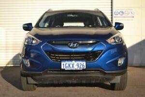 2014 Hyundai ix35 LM3 MY15 Elite AWD Blue 6 Speed Sports Automatic Wagon