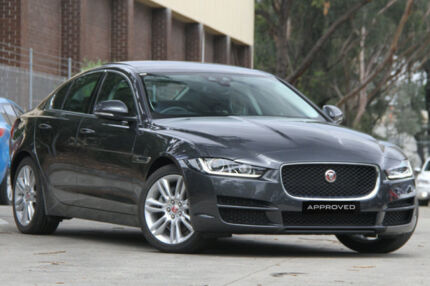2016 Jaguar XE MY17 20D Prestige Grey 8 Speed Automatic Sedan