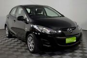 2011 Mazda 2 DE10Y1 MY11 Neo Black 5 Speed Manual Hatchback Edwardstown Marion Area Preview