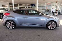 2013 Hyundai Veloster FS3 Street Coupe D-CT Silver 6 Speed Sports Automatic Dual Clutch Hatchback Osborne Park Stirling Area Preview