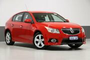 2011 Holden Cruze JH SRi Red 6 Speed Automatic Sedan Bentley Canning Area Preview