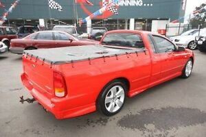 2008 Ford Falcon BF Mk II XR6 Ute Super Cab Red 4 Speed Sports Automatic Utility Kingsville Maribyrnong Area Preview