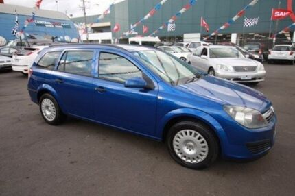 2005 Holden Astra AH MY05 CD Blue 4 Speed Automatic Wagon Kingsville Maribyrnong Area Preview