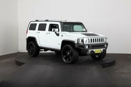 2007 Hummer H3 Adventure White 4 Speed Automatic Wagon