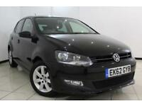2012 62 VOLKSWAGEN POLO 1.4 MATCH DSG 5DR AUTOMATIC 83 BHP
