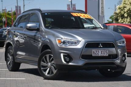 2014 Mitsubishi ASX XB MY15 LS 2WD Grey 6 Speed Constant Variable Wagon Moorooka Brisbane South West Preview