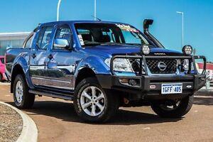 2013 Nissan Navara D40 S6 MY12 ST Blue 5 Speed Sports Automatic Utility East Rockingham Rockingham Area Preview
