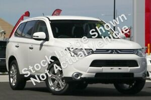 2013 Mitsubishi Outlander ZJ MY13 Aspire 4WD White 6 Speed Constant Variable Wagon Morley Bayswater Area Preview