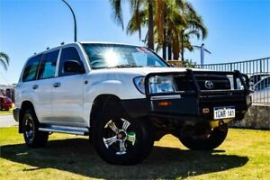 2004 Toyota Landcruiser HZJ105R (4x4) White 5 Speed Manual 4x4 Wagon Greenfields Mandurah Area Preview