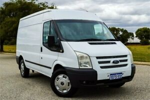 2013 Ford Transit VM MY12 Update Mid (MWB) Frozen White 6 Speed Manual Van Rockingham Rockingham Area Preview