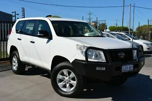 2012 Toyota Landcruiser KDJ150R Prado GX (4x4) White 5 Speed Sequential Auto Wagon Welshpool Canning Area Preview