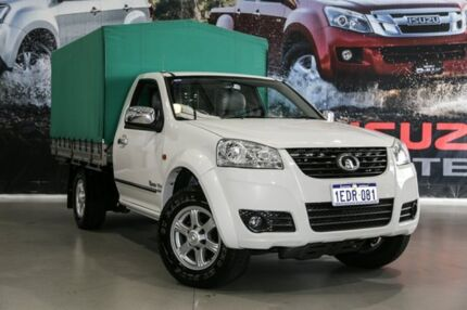 2013 Great Wall V200 K2 MY13 White 6 Speed Manual Cab Chassis