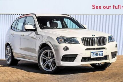 2013 BMW X3 F25 MY0413 xDrive30d Steptronic White 8 Speed Automatic Wagon Morley Bayswater Area Preview