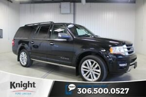 2015 Ford Expedition Max Platinum Navigation, Moon Roof