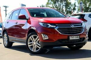 2017 Holden Equinox EQ MY18 LTZ AWD Red 9 Speed Sports Automatic Wagon McGraths Hill Hawkesbury Area Preview
