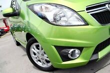 2013 Holden Barina Spark MJ MY14 CD Green 5 Speed Manual Hatchback Pennant Hills Hornsby Area Preview