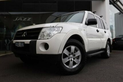 2007 Mitsubishi Pajero NS GLX White 5 Speed Sports Automatic Wagon Hoppers Crossing Wyndham Area Preview