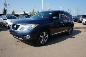 2014 Nissan Pathfinder 4X4 PLATINUM Navigation (GPS),  Leather,