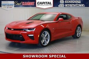2017 Chevrolet Camaro 2SS *LEATHER, NAV, SUNROOF, 1402 KMS, WAS