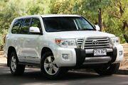 2015 Toyota Landcruiser VDJ200R Sahara Crystal Pearl 6 Speed Sports Automatic Wagon Hawthorn Mitcham Area Preview
