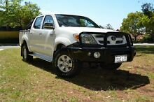 2006 Toyota Hilux GGN15R MY05 SR5 Glacier White 5 Speed Automatic Utility Claremont Nedlands Area Preview