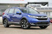 2017 Honda CR-V RW MY18 VTi-L FWD Blue 1 Speed Constant Variable Wagon Moorooka Brisbane South West Preview