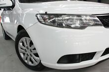 2011 Kia Cerato TD MY11 SI White 6 Speed Automatic Sedan Coopers Plains Brisbane South West Preview