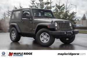 2015 Jeep Wrangler Sport NO ACCIDENTS, LOCAL, LOW KMs!