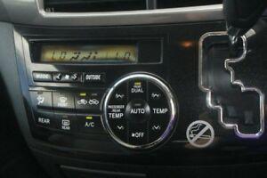 2014 Toyota Tarago Silver Constant Variable Wagon
